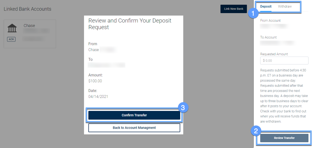 Funding Account