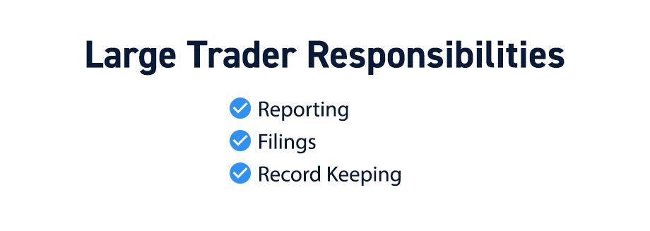 Large Trader Responsibilities
