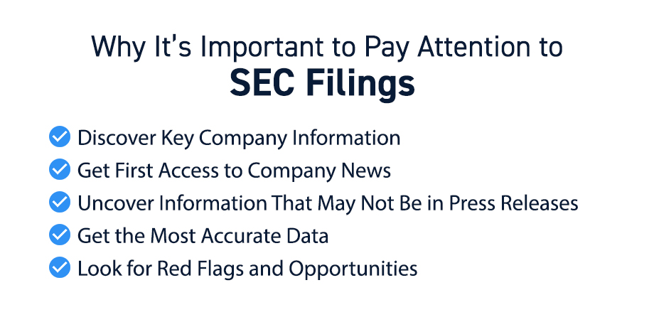 Pay Attention to SEC Filings